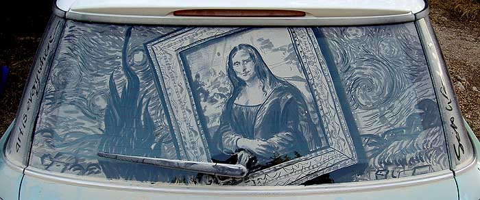 Car Dust Artwork | You Will Never Wash Your Car Again