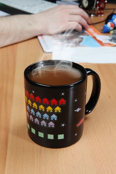 The Game Is On | Heat Changing Arcade Coffee Mugs