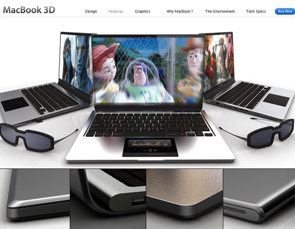 Introducing | MacBook 3D – The Race For 3D Content Is On