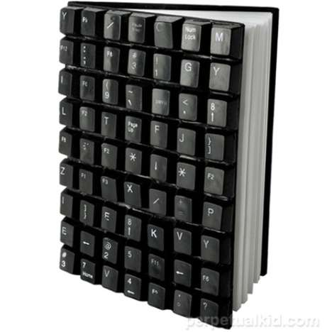 The Geeky QWERTY Notebooks Are Sure To Inspire