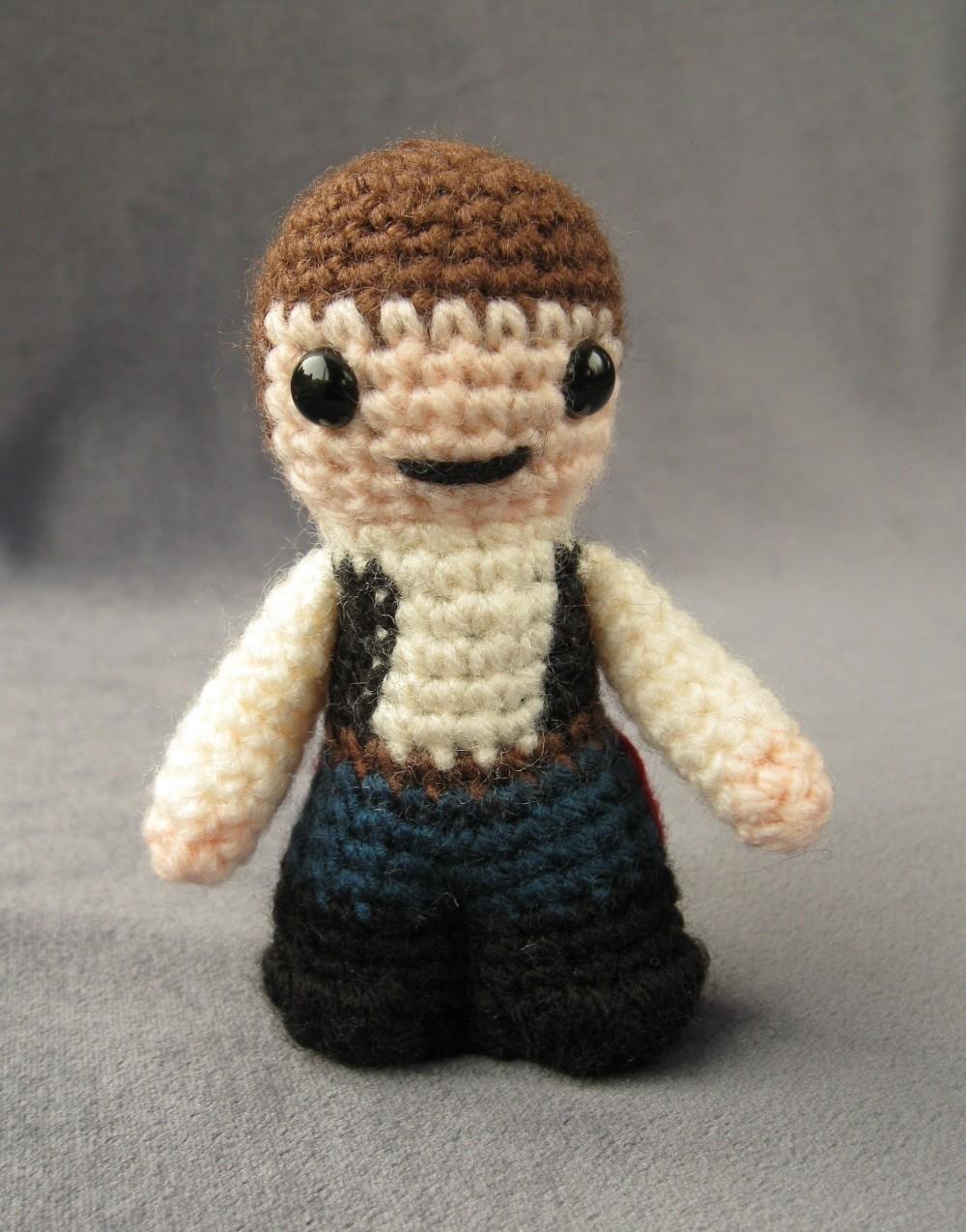Crochet Pattern Small Amigurumi : Mini Star Wars Amigurumi Cuddly Is Finally Cool