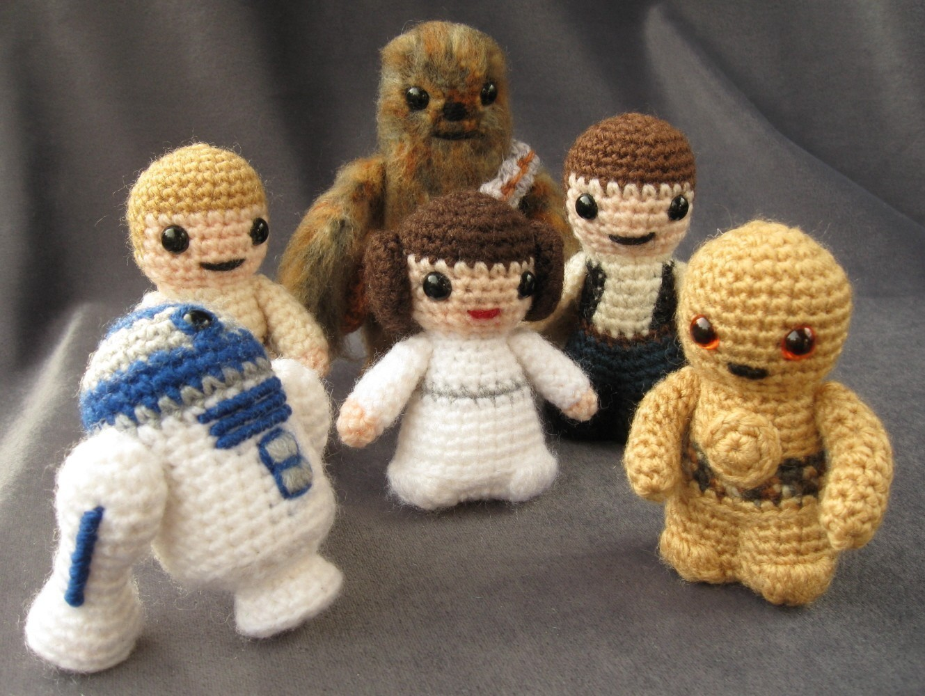 Mini Star Wars Amigurumi Cuddly Is Finally Cool