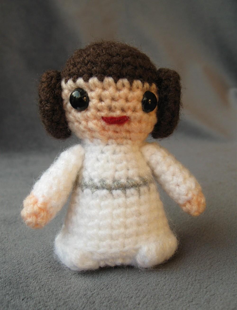 Star Wars Amigurumi : Mini Star Wars Amigurumi Cuddly Is Finally Cool