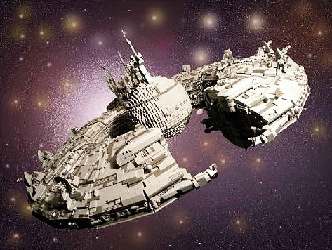 2 Years In The Making | Star Wars LEGO Space Ship