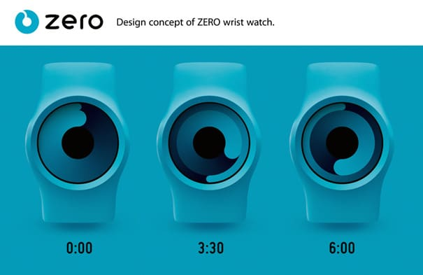 Unique Watch Design | It's Cool To Have A Zero