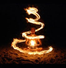 The Beautiful and Dangerous Art of Fire Dancing