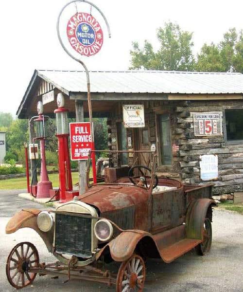 Vintage Gas Stations Inspiration Bit Rebels