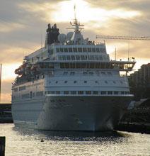 Cruise Ship vs. Rogue Wave