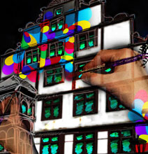 Awe-Inspiring 3-D Projection | A Snoring House
