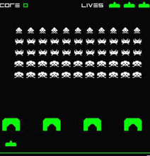 For All Geeks | Space Invaders Clock Complete with Hack
