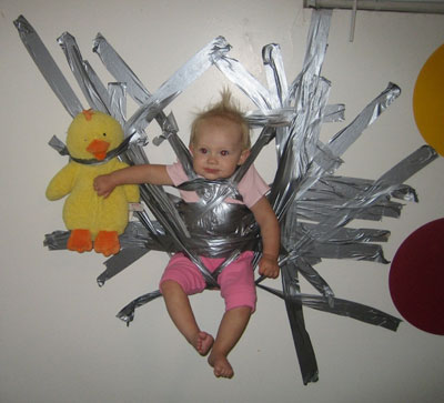 15 Wacky And Fun Uses For Duct Tape Bit Rebels