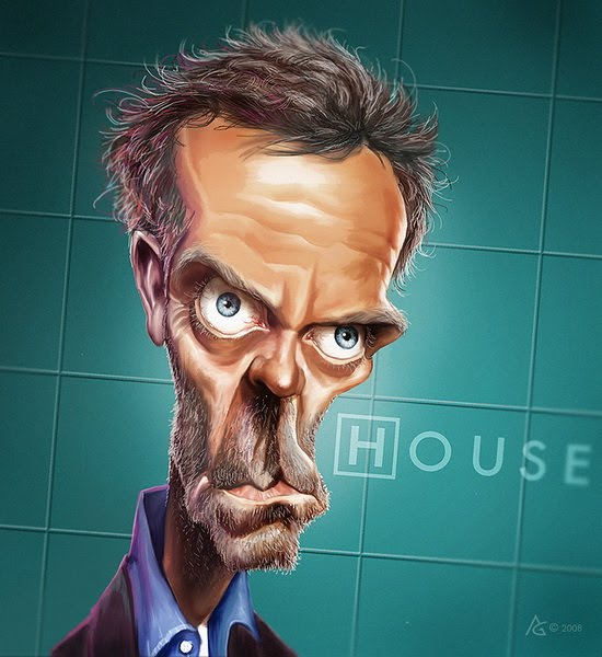 19 Freakishly Beautiful Caricatures By Anthony Geoffroy