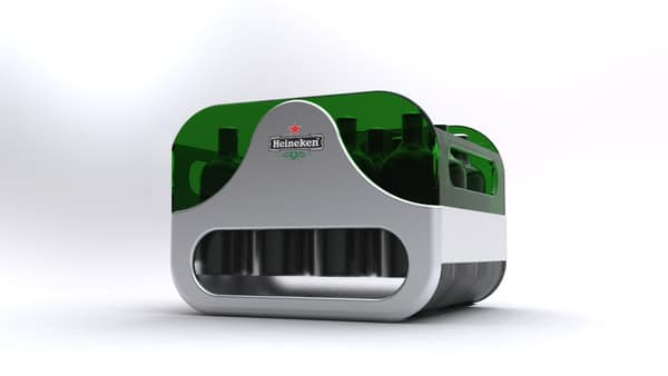 Heineken: Beer Crate Of The Future Keeps Your Beer Cold