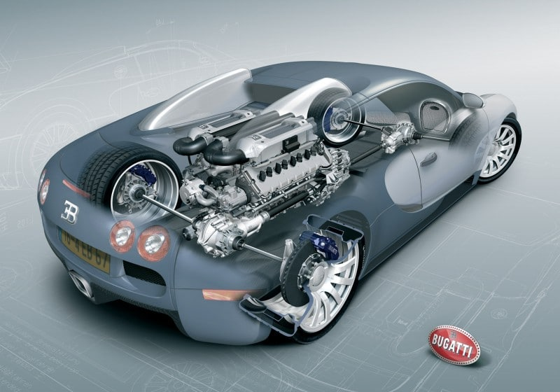 Bugatti Veyron – The World's Most Advanced Lego Build