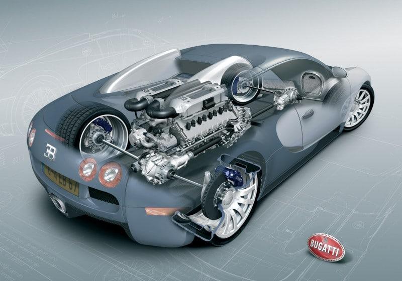 Bugatti Veyron – The World's Most Advanced Lego Build