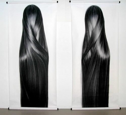 Omg Moment Ultra Realistic Hair Drawings Bit Rebels