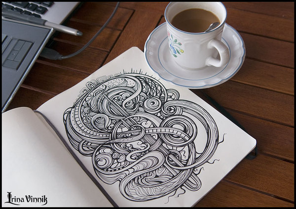 Doodle Much? Well, This Is What I Call A Sketchbook!