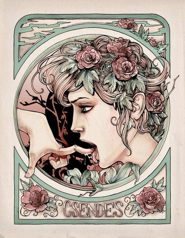 Illustrations – The Impressive Imagination of Karl Kwasny