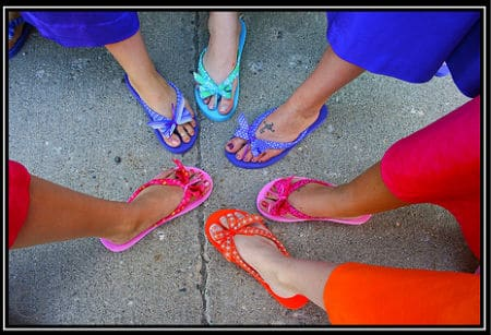 Summertime Flip Flops – Design Inspiration For Your Enjoyment!