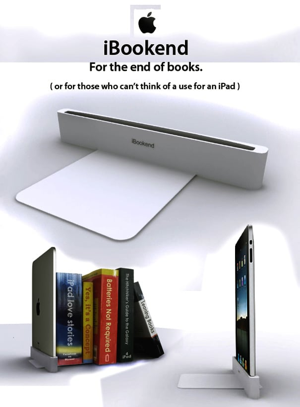 Is This The iPad's True Use? – [Humor]