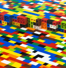 The Boardroom Table Made From Over 22,000 Legos!
