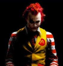 McCreepy Ronald McDonald Pictures – I'm Not Lovin It
