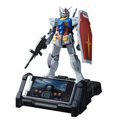 In Stores In September: Transformers Gundam Cell Phone