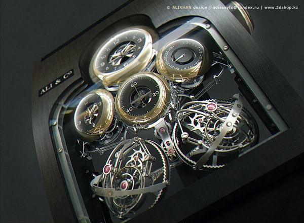 GyroTourbillion Watch: The World's Most Elaborate Watch