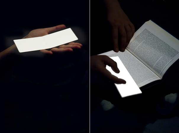 LightLeaf: Revolutionary Paper Thin Light Source
