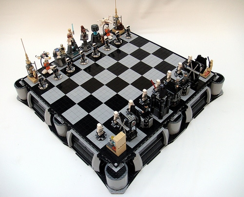 Star Wars Lego Chess Board The Climax Of Genius Bit Rebels