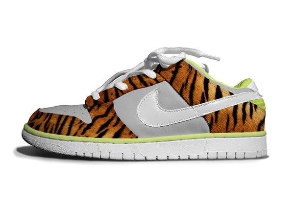 Zebra and Tiger Nike Dunks – Take Me to the Jungle