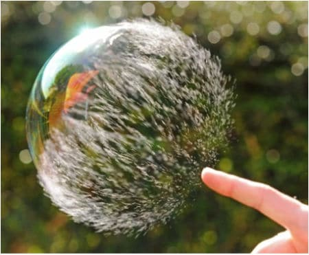 The World As Seen Through Bubbles!