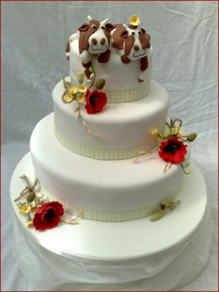 Unusual Wedding Cakes – Have Your Cake and Eat It Too!