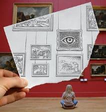 Pencil vs. Camera – Amazing Photo Artworks by Ben Heine