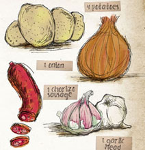 Charming Illustrated Recipes – The New Cooking Trend!