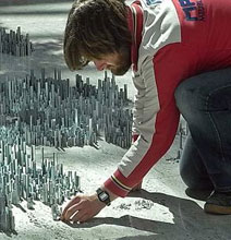 The City Made Of 100,000 Staples