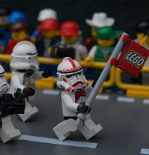 Star Wars Goes To The Olympics – LEGO Inspiration