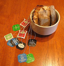Used Tea Bag Art – What a Beautiful Way to Recycle