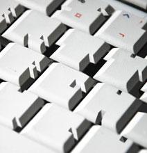A Zany Keyboard – Typography Inspiration