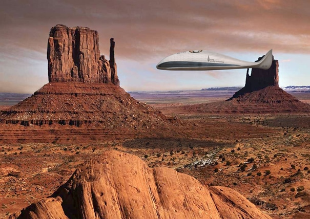 Newly Commissioned Airship – The Future Of Aviation Is Here!