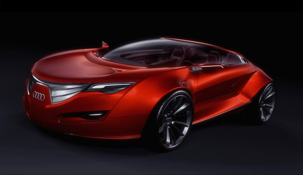 """The Audi Design Makeover of the Millennium – Audi """"Regard"""""""