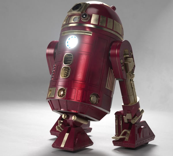 Now Iron Man Has His Own R2-D2!