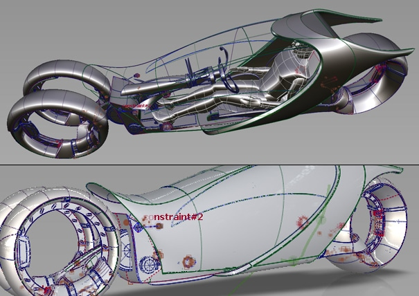 Tron Bike Reimagined – Hyundai Is Focusing On Speed