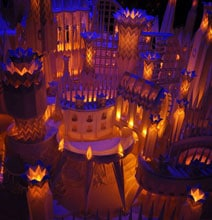 The Most Magical Paper Craft Castle In The World