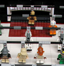 Geek Alert – A Lego Star Wars Foosball Table!