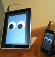 The iPad & iPhone Walking Robots – A Cute Robot Family