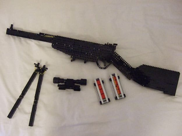 A Working Sniper Rifle Made Out Of Lego Technics Bit Rebels