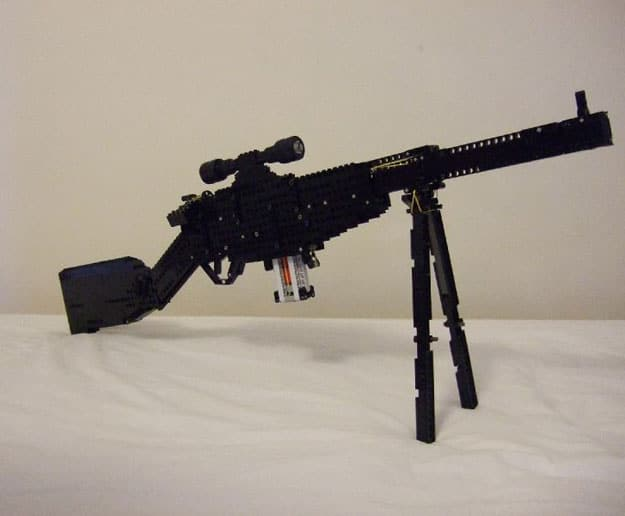 A Working Sniper Rifle Made Out Of Lego Technics