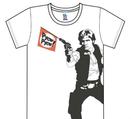 Humorous Star Wars Inspired T-Shirts!