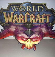 WOW – World of Warcraft Papercraft Art
